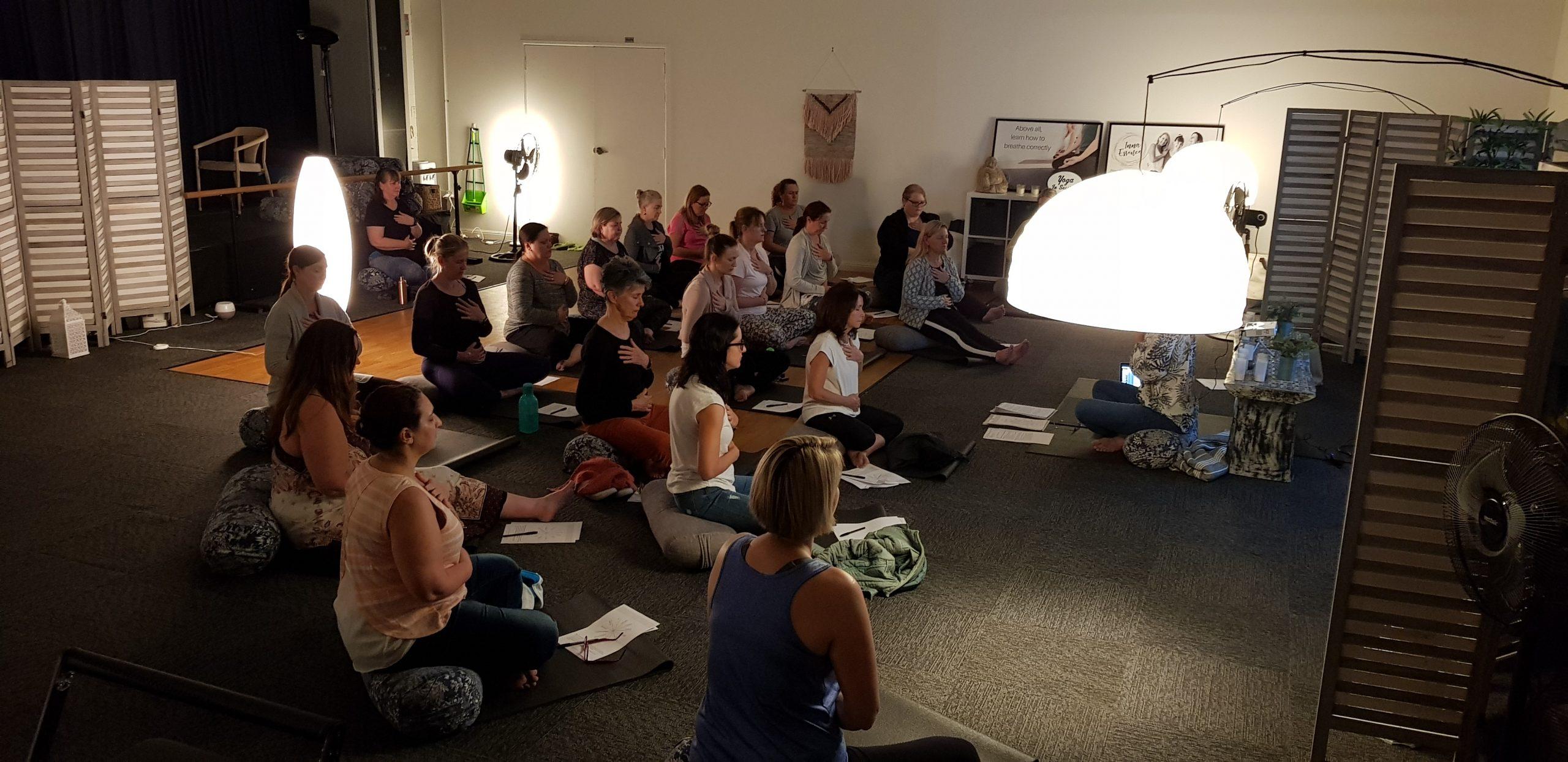 Corporate Pilates with Inna Essence