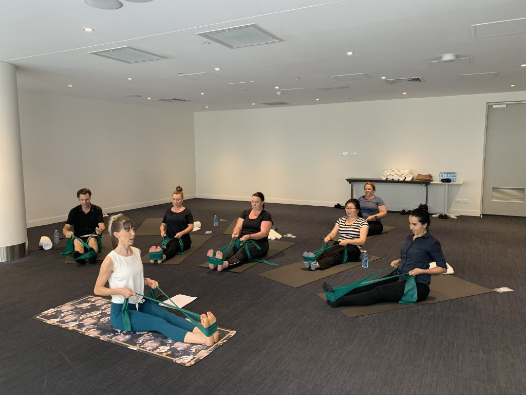 Corporate Pilates with Inna Essence