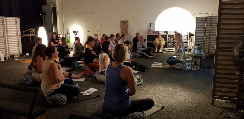 Yoga and Pilates workshops at Inna Essence studio Underwood