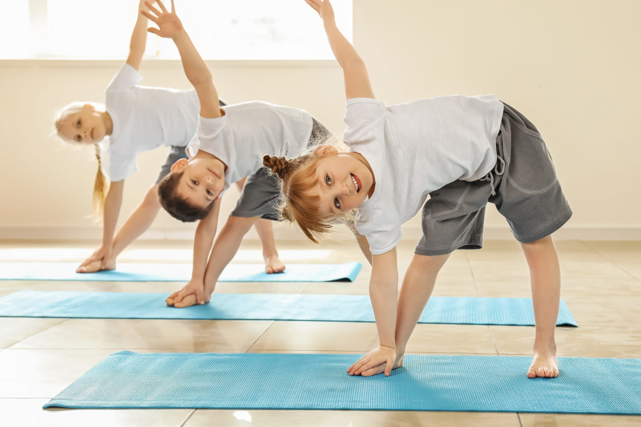Inna Essence Underwood Yoga and Pilates studio Kids Pilates