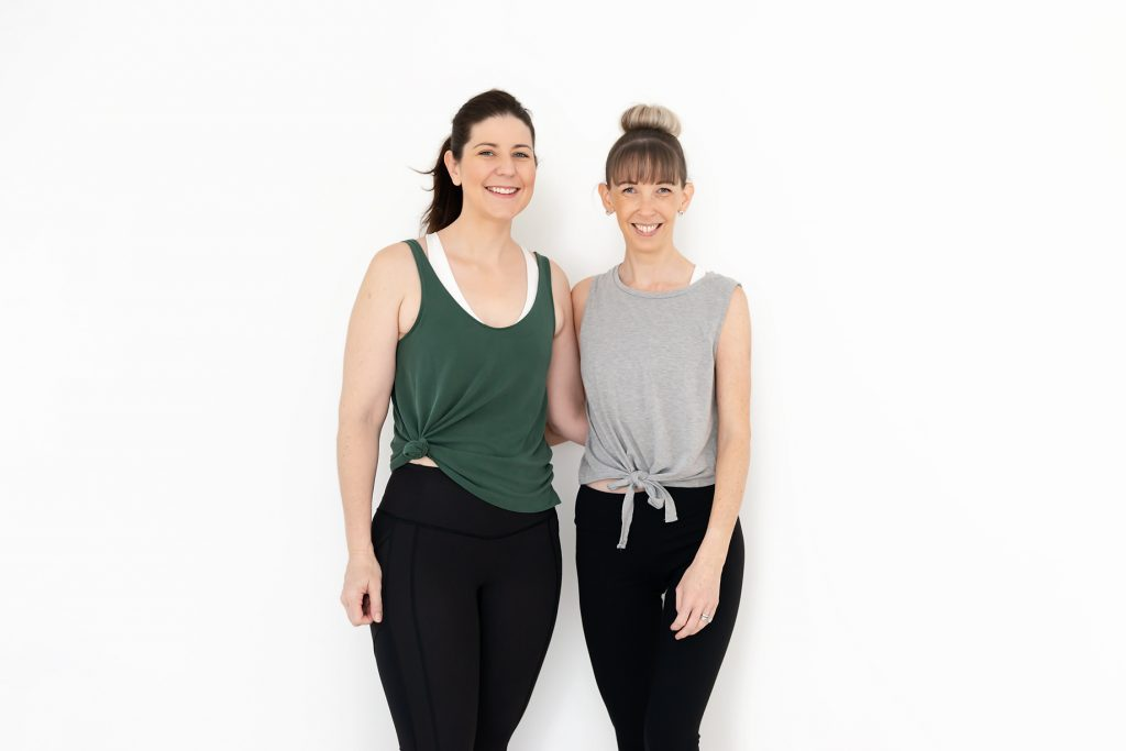 Andrea and Anna owners of Inna Essence Yoga and Pilates studio Underwood