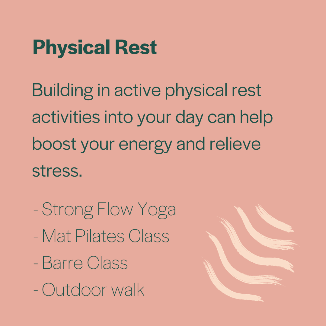 Physical Rest at Inna Essence