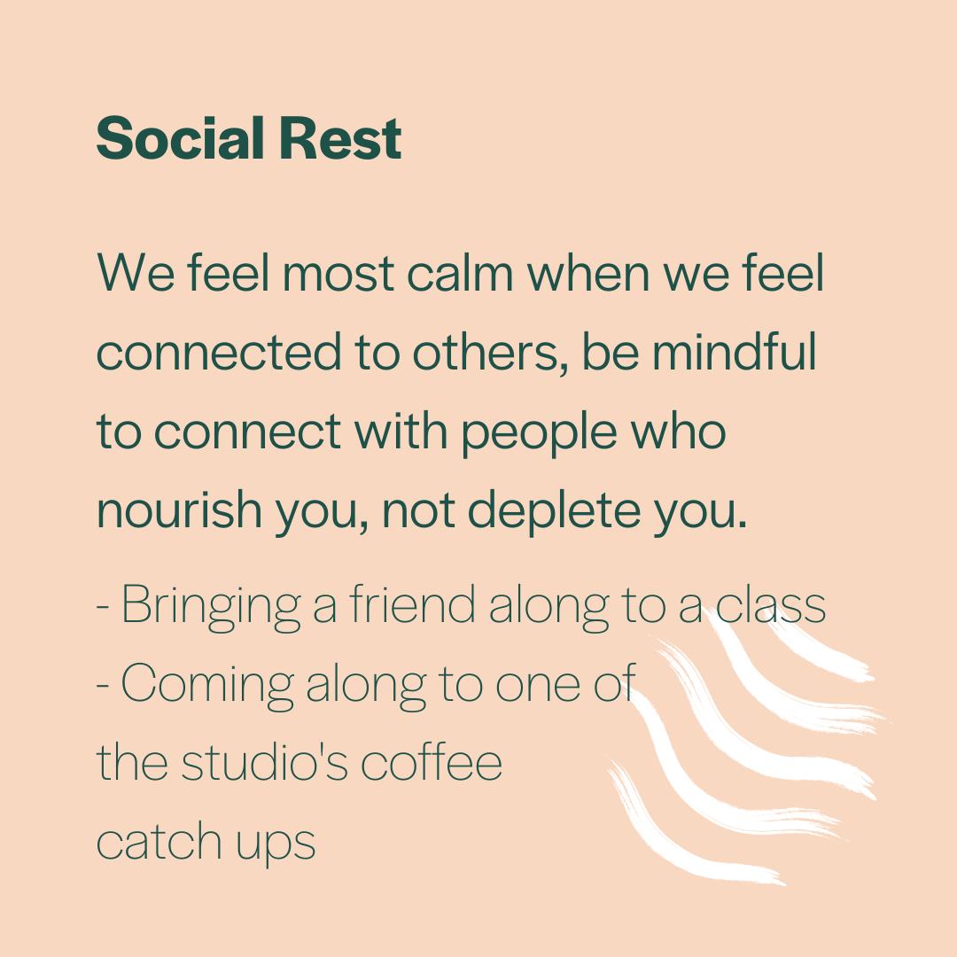 Social Rest at Inna Essence