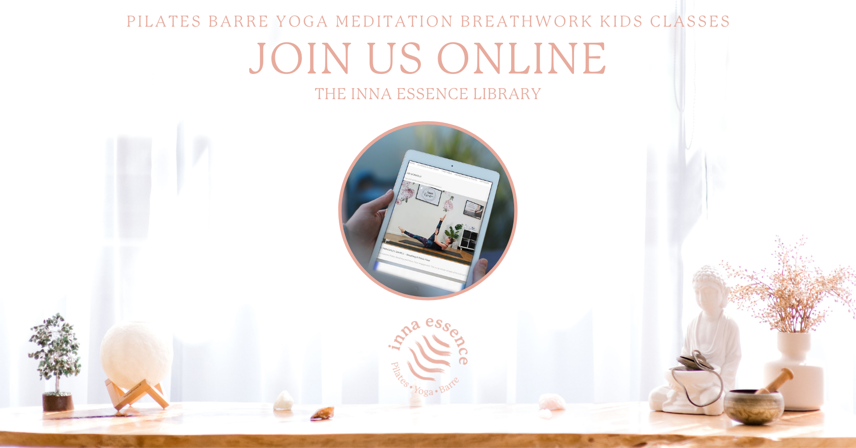 The Library Online classes with Inna Essence